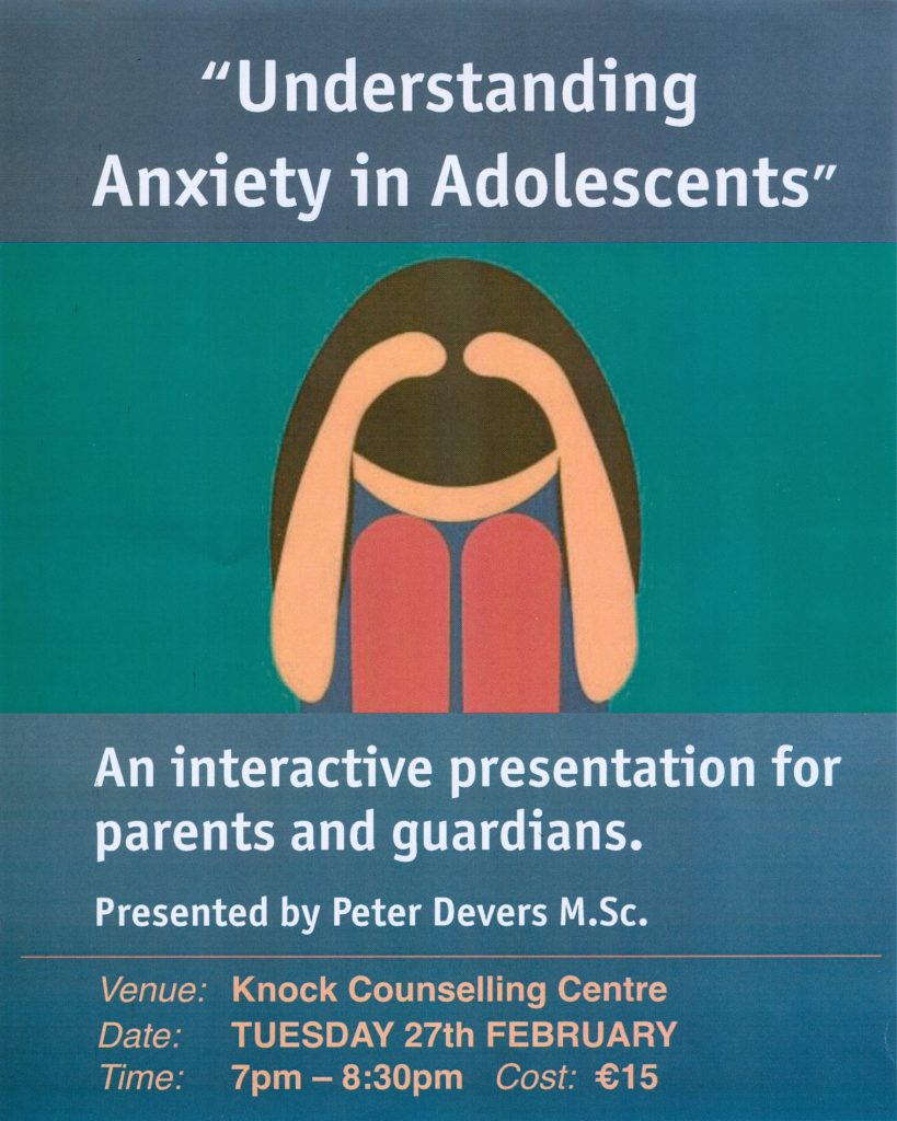 anxiety in adolescents Anxiety disorders constitute the most prevalent class of mental health problems in children and adolescents, with prevalence rates estimated from 15–20.